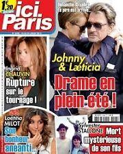 ICI PARIS N°3498 J HALLYDAY Vanessa PARADIS France GALL JJ DEBOUT & Chantal GOYA
