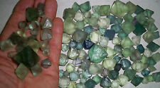 """""""WHOLESALE"""" OCTAHEDRON FLUORITE CRYSTALS ONE POUND LOT"""