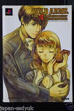 Wild Arms 4 Detonator Complete Guide manga art book OOP