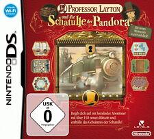 Spiel: PROFESSOR LAYTON Schatulle Pandora für Nintendo DS + Lite + XL + 3DS 2DS