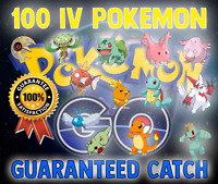 Pokemon GO |100% IV Pokemon | Guaranteed Catch