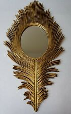 "24"" Elegance Gold Super Artistic Unique Style Wall Mirror"