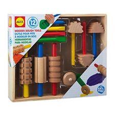 Alex Toys artista Studio de madera masa Tools Conjunto de 12 Piezas-PKG