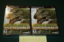 Jurassic: The Hunted (Playstation 2 PS2) NEW SEALED BLACK LABEL Y-FOLD MINT
