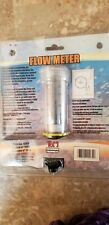Tom Flow Meter 50- 250 gph, for Freshwater Aquariums, Ponds
