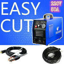 50A CUT-50 Inverter DIGITAL Air Cutting Machine Plasma Cutter 220V & Accessories
