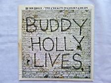 Buddy Holly & The Crickets 20 Golden Greats 1978 MCA-3040 Orig U.S. Pressing VG+