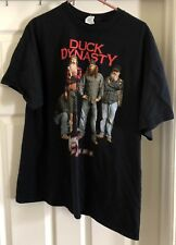 Gildan Duck Dynasty Top 10 Quotes black graphic t-shirt size XL!!