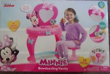 Disney Minnie Mouse Bow Tique Bowdazzling Girls Vanity Mirror Table