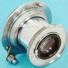 FED 1:3.5 F=50mm LEICA L39 Lens based on Leica ELMAR f=5cm for Leica LTM or M