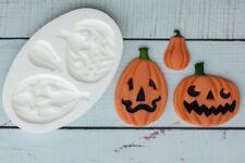 Molde De Silicona, Halloween Calabazas, calabaza, Ellam Sugarcraft M014