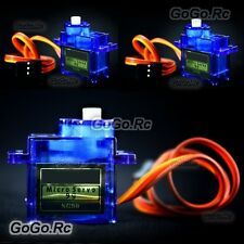 3 Pcs SG-90 SG90 9g Micro Gear Servo For RC Model Buggy Helicopter Plane Boat