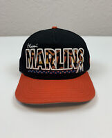 Miami Marlins Baseball New Era MLB Hat Strapback Adjustable Medium-Large