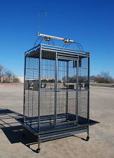 """Xx-Large 40""""x30""""x72"""" ;H Parrot Cage For Large Macaw Cockatoo African Grey Amazon"""