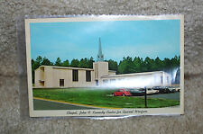 Chapel, John F. Kennedy Center for Special Warfare,  Ft Bragg NC postcard 1980