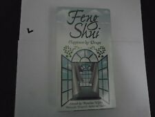 Feng Shui Happiness By Design VHS (1997, Nancilee Wydra) NEW