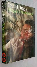 ROGER ORMEROD.DEAD RINGER.1ST/1 UK EDITION H/B D/J 1985.RARE.PACY THRILLER