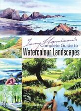 Terry Harrison's Complete Guide to Watercolour Landscapes, Paperback by Harri...
