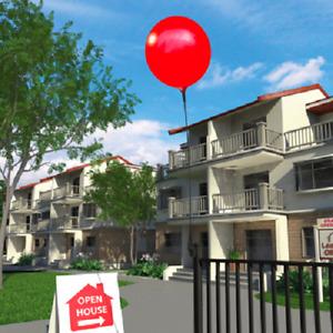Outdoor Reusable Balloon Vertical Bracket Kit