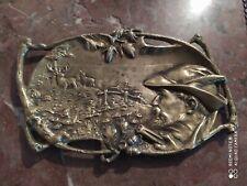 Vide Poches en Bronze à décor de scène de Chasse