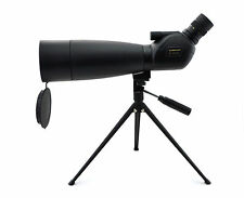 Visionking 20-60x80 Spotting scope Waterproof Telescope Rubber With Tripod