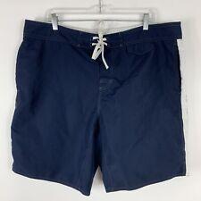 Gilded Age Inc Board Shorts Men's Size XXXL Lightweight Swim Trunks Blue Pockets