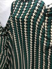 *NEW*Georgette Polyester Multicolour Dogtooth Print Dress/Craft Fabric*FREE P&P*