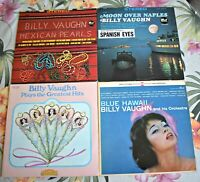 Vintage Billy Vaughn Mexican Pearls, Moon Over Naples, Greatest Hits, Blue Hawai