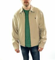 Men's Polo Ralph Lauren Harrington Jacket In Beige  Size Medium