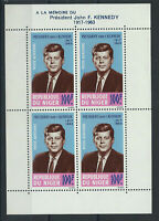 Niger Bloc N° 3** (MNH) 1964 - John F. Kennedy
