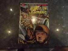 belle reedition brochee buck danny attaque en birmanie