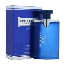 BRILLANT BLUE Impression 3.4 oz Eau de Toilette Cologne by DIAMOND COLLECTION