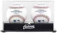 Astros Two Baseball Cube Logo Display Case - Fanatics