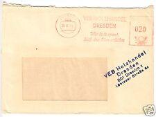 AFS, VEB Holzhandel Dresden, o Dresden, 801, 20.8.73