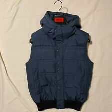Hugo By Hugo Boss Real Down Puffer Vest Size Small