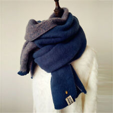 Damen Kinder Winterschal Kaschmirschal Winter Warm Feststoff Lang Schal Tücher