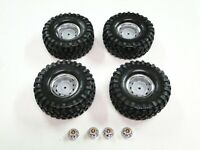NEW TRAXXAS TRX-4  Wheels & Tires Set CHEVY K5 BLAZER 12mm Hex RV15KW