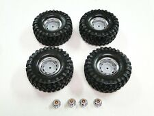NEW TRAXXAS TRX-4  Wheels & Tires Set CHEVY K5 BLAZER 12mm Hex RV15KW