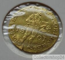 Gold Coin / Gouden Munt Netherlands Dukaat 1801 Nr: P5322