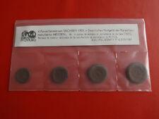 * Notgeld Sachsen 1921 Porzellan  20 + 50 Pfennig + 1, 2, Mark (KOM)