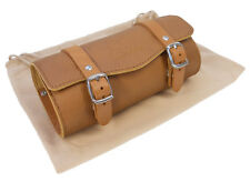 Genuine Leather Gyes Saddle Tool Bag SB-18 in Honey for Bicycles