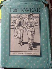 Folkwear Pattern #130 Australian Bush Outfit Jacket Shorts Trousers Pants