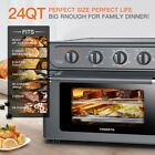 7-IN-1-Chef-Air-Fryer-Toaster-Oven-24QT-Convection-Airfryer-Countertop-Kitchen-