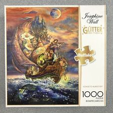 "1000pc Glitter Puzzle  ""VOYAGE TO MURRLIS SEA"" Buffalo * Josephine Wall"