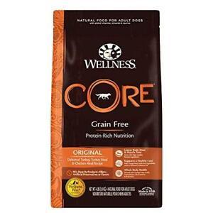 Wellness CORE Natural Grain Free Dry Dog Food, Original Turkey & Chicken,