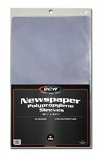 Case of 500 BCW 16 X 24 Newspaper Acid Poly Sleeves 16x24