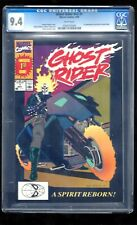 GHOST RIDER V2 #1 CGC 9.4 WHITE PGS 5/90 + G. R. KEEPSAKE COLLECTION UNOPENED