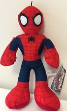 Large 13.5'' Ultimate Spiderman Plush Toy. Licensed Stuffed Animal. Marvel. New.