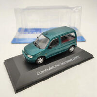 IXO Citroen Berlingo Multispace 1999 Green 1/43 Diecast Models Collection