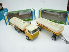 NACORAL 1/50 SCANIA LBS 140  TANK  TRUCK SET  SHELL IN BOX  GOOD CONDITION